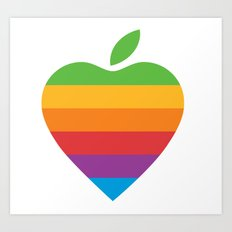 Apple Love Art Print