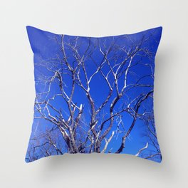 Dead Tree Defiance Throw Pillow