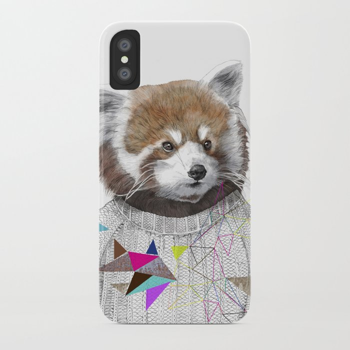 RED PANDA by Jamie Mitchell and Kris Tate iPhone Case