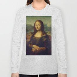 MONA LISA - LEONARDO DA VINCI Long Sleeve T-shirt