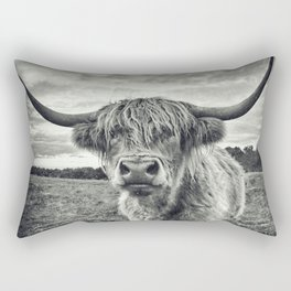 Highland Cow II Rectangular Pillow