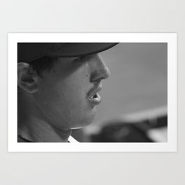 Derek Holland Art Print