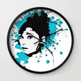 Spreadgirl hatgirl.de Wall Clock