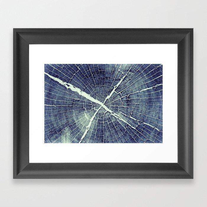 Abstract Bark Framed Art Print