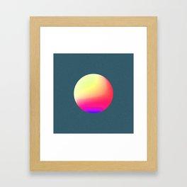 Gradient Study 01 Framed Art Print