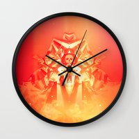 prometheus Wall Clocks featuring Prometheus Uprising by chyworks