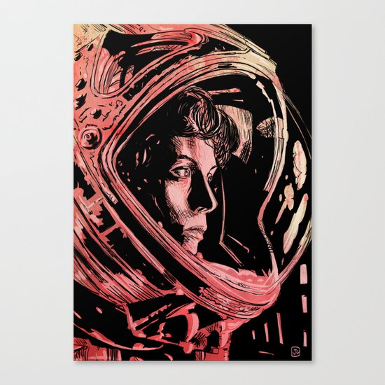 Alien Sigourney Weaver Canvas Print