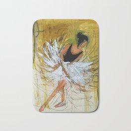 Ballerina in Motion II Bath Mat