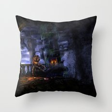 Castlevania: Vampire Variations- Bridge Throw Pillow