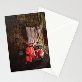 Pink vespa - travel photography Stationery Cards