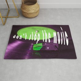 Don't stop the music Rug