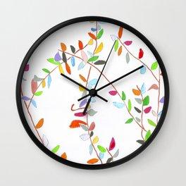 Midnight Garden cycle12 13 Wall Clock