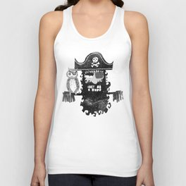 Trendy Pirate  Unisex Tank Top