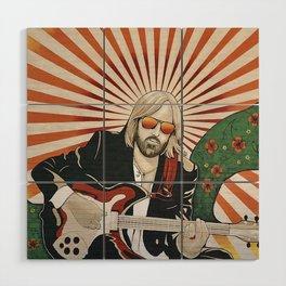 Wildflowers (Tom Petty Tribute Mural, Gainesville) Wood Wall Art