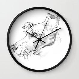 Luna in the Sun Wall Clock