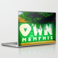 memphis Laptop & iPad Skins featuring OWN Memphis by John Weeden