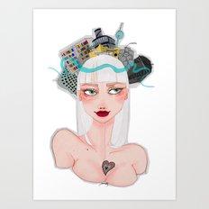 Ber(lin) Art Print