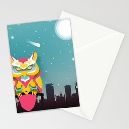 Nairobian Owl Stationery Cards
