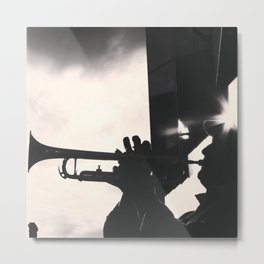 .shadow without sun.  Metal Print