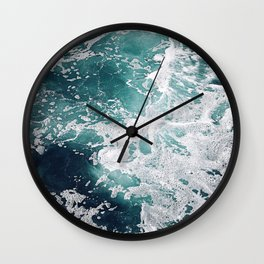 Dive Into My Emerald Dreams Wall Clock