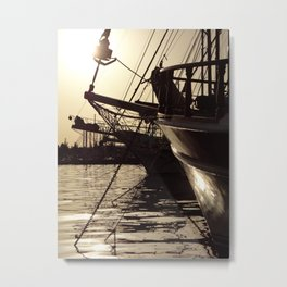 brilliant sunshine in bodrum Metal Print