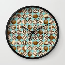 Chocolate in the box Wall Clock