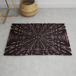 Solemn Square Tunnel Rug