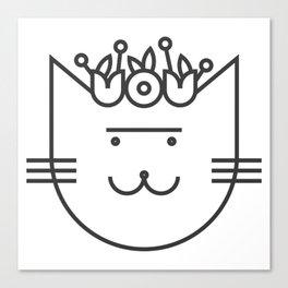 Cat Frida Canvas Print