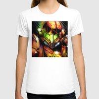 samus T-shirts featuring Samus by Vincent Vernacatola