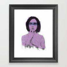 Bereft Framed Art Print