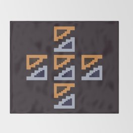 Soul of the El Dourado Throw Blanket