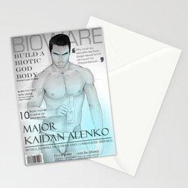 MASS EFFECT: KAIDAN ALENKO BIOWARE MAGAZINE Stationery Cards
