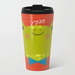 Dressy Froggy Metal Travel Mug