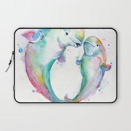 Bubbly Belugas Laptop Sleeve