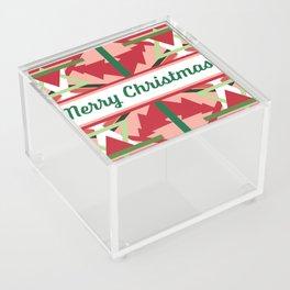 Christmas Card 1 Acrylic Box