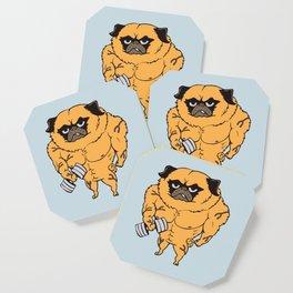 Buff Pug Coaster
