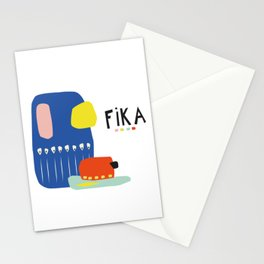 Fika Collage Stationery Cards