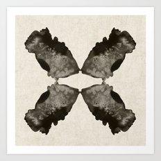 fish and mirrors Art Print
