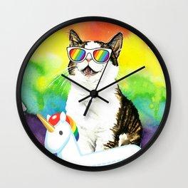 That summer vibe Wall Clock