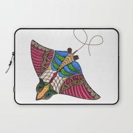 Colorful Stingray Laptop Sleeve