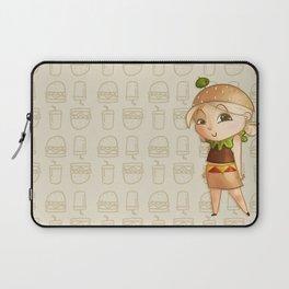 Mini Burger Laptop Sleeve