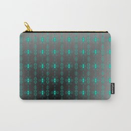 Softly-grey-blue-pattern Carry-All Pouch