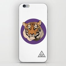 Wild Rectangular Tiger iPhone & iPod Skin