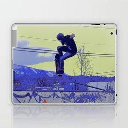 Getting Air - Skateboarder Laptop & iPad Skin