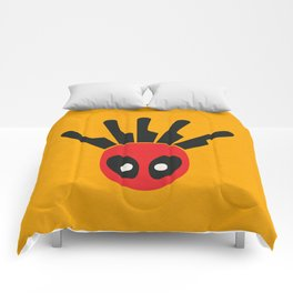 The Merc With A Mouth Alternative art Comforters