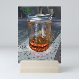 Chili Oil Mini Art Print