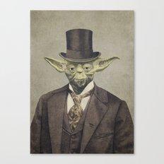 Sir Yodington  Canvas Print