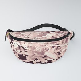 Abstract Tree Landscape Dark Botanical Art Rose Tinted Fanny Pack