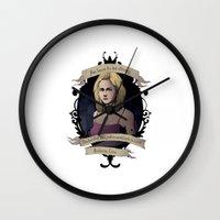 buffy Wall Clocks featuring Buffy - Buffy the Vampire Slayer by muin+staers