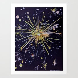 There is a Spark Art Print